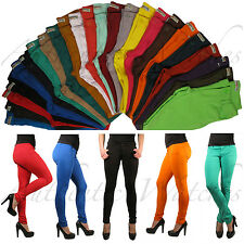 Colored Skinny Jeggings Leggings Pencil Tights Stretchy Soft Sexy Women Pants