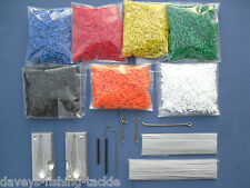 """TITAN LONG TAIL DCA LEAD WEIGHT MOULD KIT 100 6"""" WIRES 200 ROLLER TUBES 50 LOOPS"""