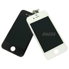 1X Black/White Touch Glass Digitizer+LCD Display Assembly For iPhone 4G JMHG