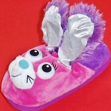 NEW Girl's Youth's STOMPEEZ BUNNY Pink/Purple Slippers Slip On Casual Shoes
