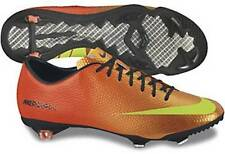 Nike Mercurial Vapor IX Soccer Cleats (Sunset/Total Crimson/Volt) 555605 778
