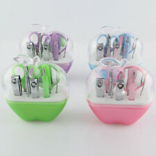 New Cute Nail Clippers Manicure Set Portable Apple Easy Makeup Tools