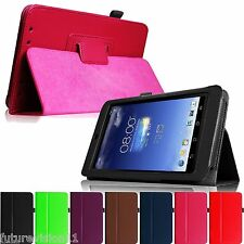 "For ASUS MeMO Pad HD ME173X 7"" 7-inch Android Tablet Leather Case Cover Stand"