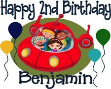 Little Einsteins Inspired Personalized Birthday T-shirt Custom Tee Bday Shirt