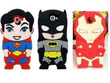 3D Comics Super Heroes Soft Silicone Case For Samsung Galaxy Note 2 II N7100