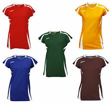 ASICS Women's Blocker Athletic Volleyball Jersey Top Short Sleeve, Many Colors