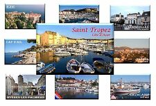 FR - FRENCH RIVIERA - FRANCE - Fridge Magnet Refrigerator Holiday Gift Souvenir