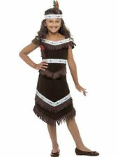 SALE! Kids Wild West Native Red Indian Girls Fancy Dress Costume Party Outfit