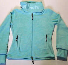BENCH Funnel Neck H Fleece Jacke Grün Gr.S M L oder XL