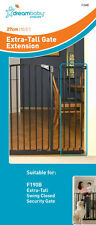 DREAMBABY TALL Safety Gate Extension 27CM for TALL Gate 1m high ** Black or Whit