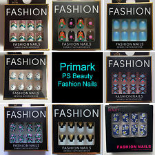Primark PS Beauty False Fashion Nails Nail Art *Lots of Designs to choose from!*