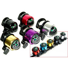 Multicolor New Bike Cycling Bicycle Metal Ring Alarm Bell Compass Handlebar Ball