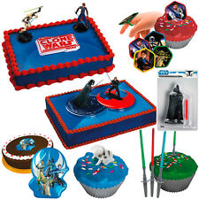 Birthday Decorations Kids Boys Star Wars Cake Decor Party Supplies