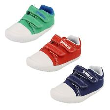 CLARKS INFANT BOYS CANVAS SHOES STYLE LITTLE CHAP