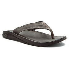 CHACO FLIP OF FAITH ECOTREAD J102949 MEN'S GUNMETAL SANDALS $100.