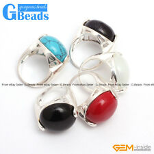 G-Beads 20mm button beads tibetan silver ring fashion jewelry 5 materials select