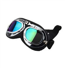 Lunettes Protection Armée Moto Motorcycle Scooter Soleil Anti-UV Goggles