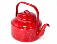 GSI Outdoors Enamelware Tea Kettle Water Kettle Graniteware
