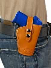 NEW Barsony OWB Tan Leather Holster Star Bersa Small 380 Ultra Comp 9mm 40 45