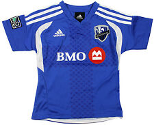 MLS Soccer Boy's Montreal Impact Home Replica Jersey, Blue