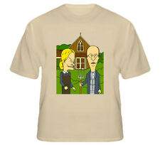 American Gothic Funny Beavis And Butt-head T Shirt