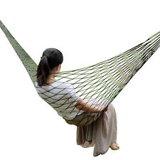 Comfy Garden Hammock Ideal for Camping or Outdoors. Choice of Colours Swing Seat