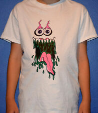 K one 7 Clothing Goo Monster Silk Screen T-Shirts