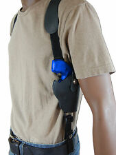 """NEW Barsony Black Leather Vertical Shoulder Holster Charter Arms 2"""" Snub Nose"""
