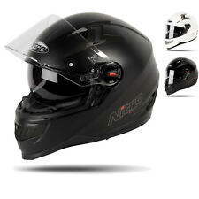 NITRO N2200 UNO DVS FULL FACE SPORTS TOURING PLAIN MOTORCYCLE BIKE CRSAH HELMET