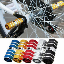 Cycling BMX Mountain Bike Bicycle Hexagonal Axle Pedal Alloy Foot Stunt Pegs
