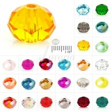 5040 150Pc Crystal Czech Loose Glass Rondelle 3x4mm For Swarovski Faceted Beads