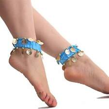 Eastic Belly Dance Anklet Foot Chain Indian Tribal Ankle Chain 8 Colors Ethnic