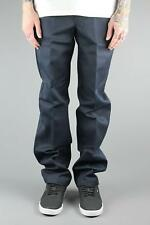 Dickies WP873 Slim Fit Straight Cut Work Pant Dark Navy Blue Trouser Chinos