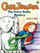 NEW CAM Jansen and the Scary Snake Mystery by David A. Adler Prebound Book (Engl