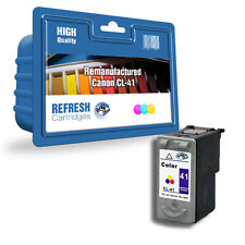 REMANUFACTURED CANON CL-41 SINGLE COLOUR INK CARTRIDGE FOR CANON PIXMA PRINTERS