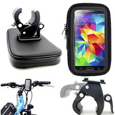 Motorcycle Bike Bicycle Waterproof Bag Pouch Case Handlebar Mount Holder Cradle
