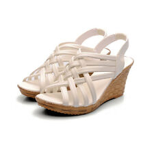 2014 Spring New Wedges, elastic shoes, sandals, high heels, women's shoes CA