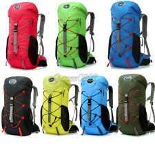 35L Waterproof Hiking Camping Climbing Travel Rucksack Backpack Outdoor