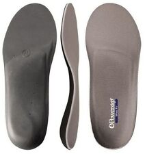 Powerstep Wide Fit Orthotic Supports Full Length Insoles Shoes Absorb Shock Pain