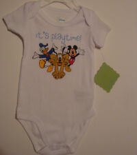 INFANT BOYS DISNEY MICKEY MOUSE 1 PC CREEPER/BODYSUIT  SIZE 6/9 MONTHS  NWT