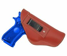 New Barsony Burgundy Leather IWB Gun Holster Steyr Walther Full Size 9mm 40 45