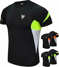 RDX MMA Rash Guard Compression Armour Base Layer Shirt Weight Loss Running Gym G
