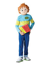 Child Licensed Horrid Henry Outfit Fancy Dress Costume with Mask Book Week BN