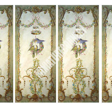 Dolls House Victorian Wall Panels choose from 1/12th or 1/24th scale #208