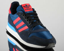 more photos 4709f aa4be adidas ZX 500 OG Originals zx500 men lifestyle casual shoes NEW navy blue  red