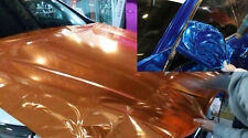 Stretchable Flexible Chrome Mirror VINYL WRAP 1.52m(59.8in) Silver Orange Red