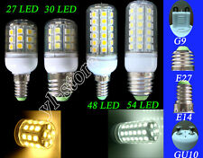 E27/E14/G9/GU10 27/30/48/54 SMD 5050 LED Corn Light Bulb Lamp 3.5/4.5W 5W New #D