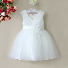 Ivory Bridesmaid/Flower Girl/Party/Princess/Christening/Prom Dress
