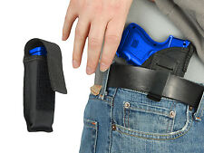 New Barsony IWB Gun Holster + Mag Pouch for Glock Compact Sub-Compact 9mm 40 45