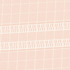 Dolls House Wallpaper 1/12th scale Bathroom Pink Tiles Quality Satin Paper  #13T